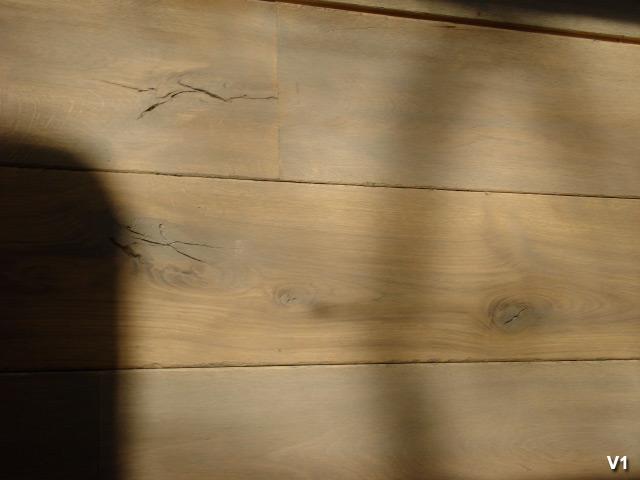 Oude houten vloeren van bijzonder hoge kwaliteit